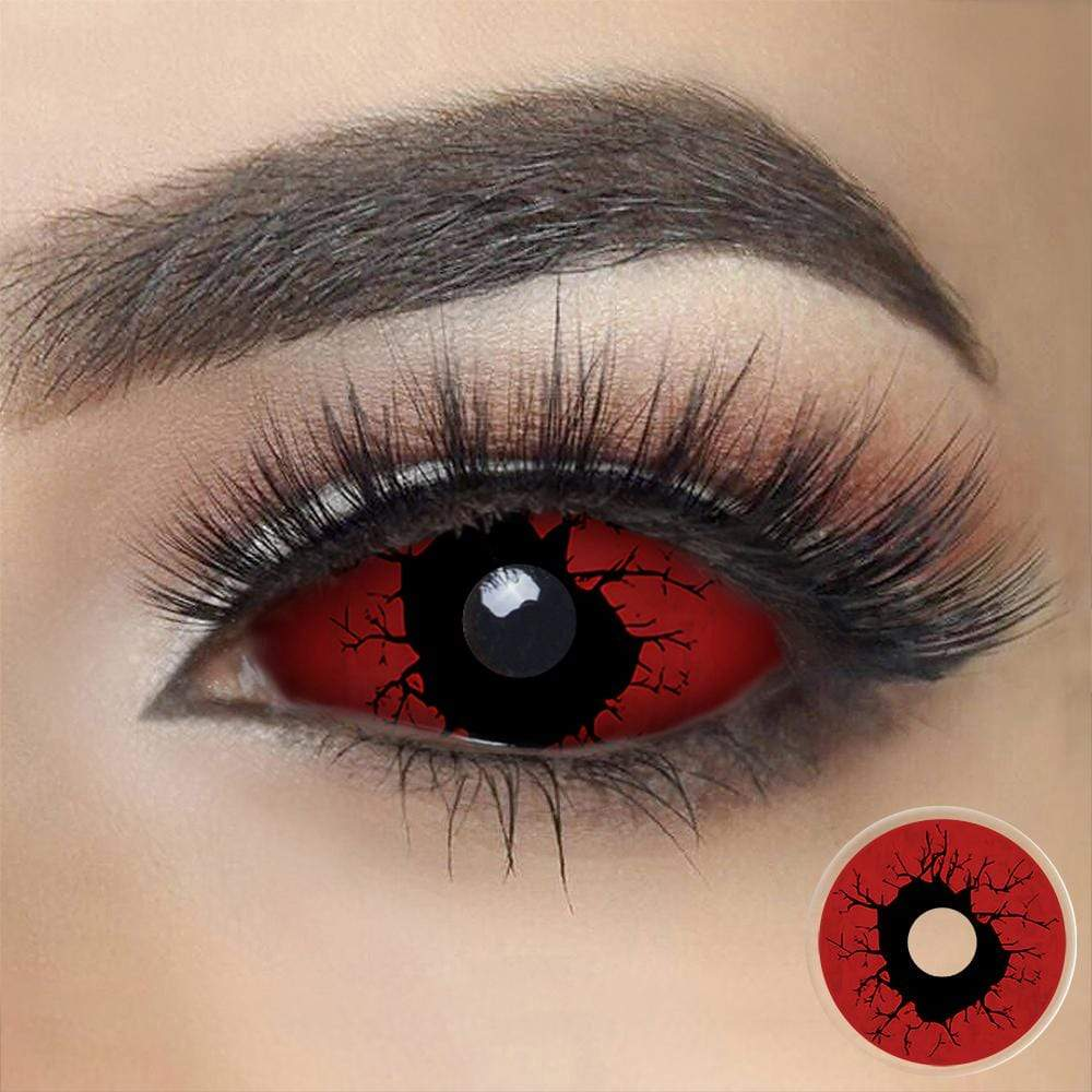 Red Slipknot Sclera Eyes
