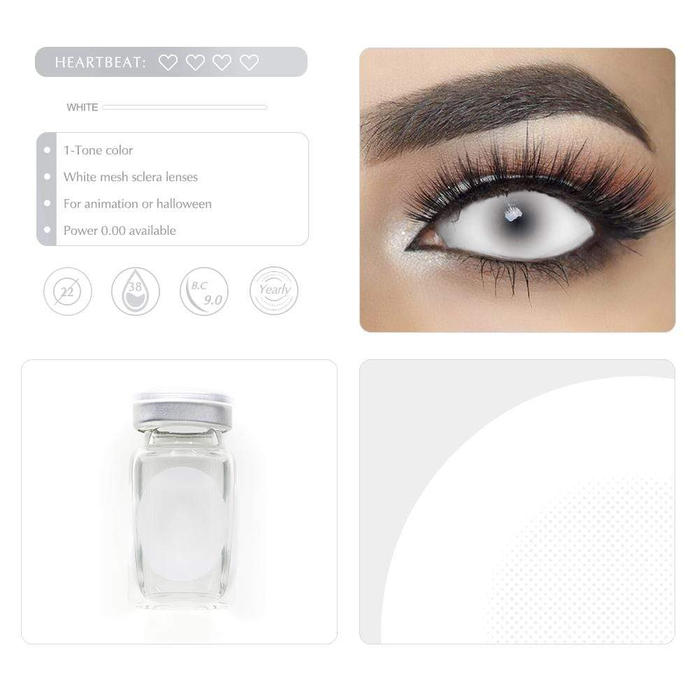 Unique selling points of the White Mesh Scleral lenses