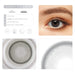 Choco gray contact lens details display renderings