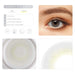 Ash gray contact lens details display rederings