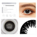 Black contact lens details display rederings