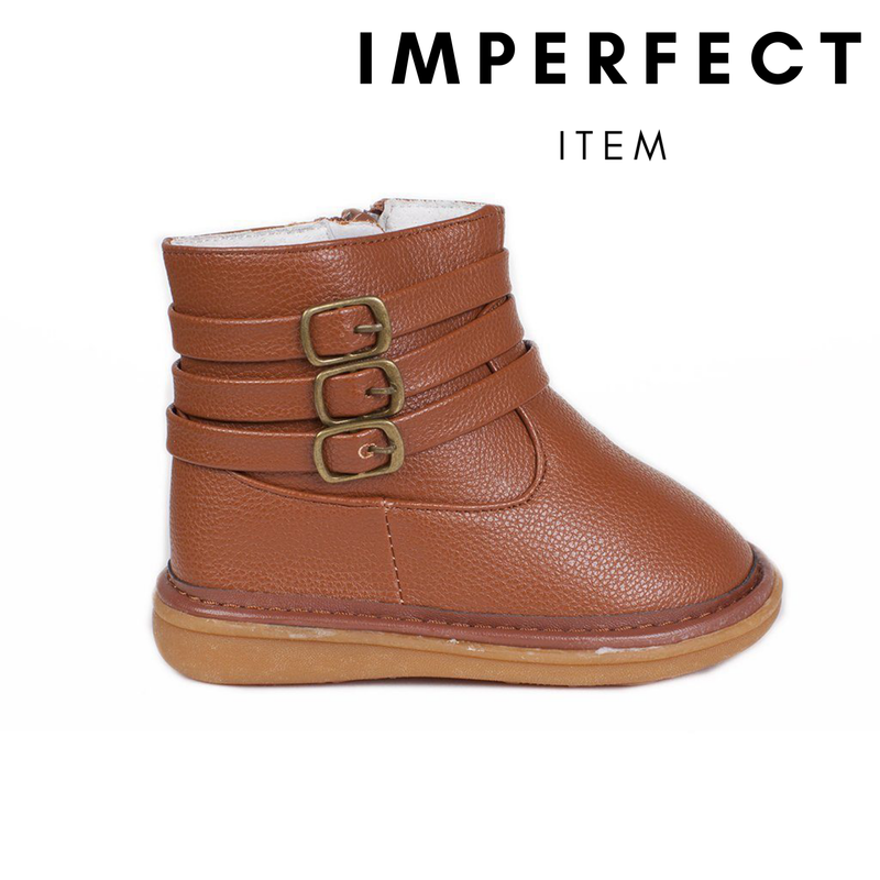 Presley Brown Boot (IMPERFECT)