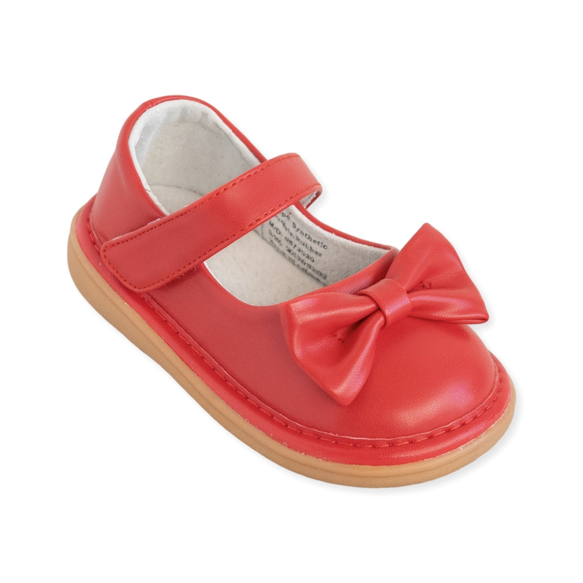Bow Red Shoe - Wee Squeak