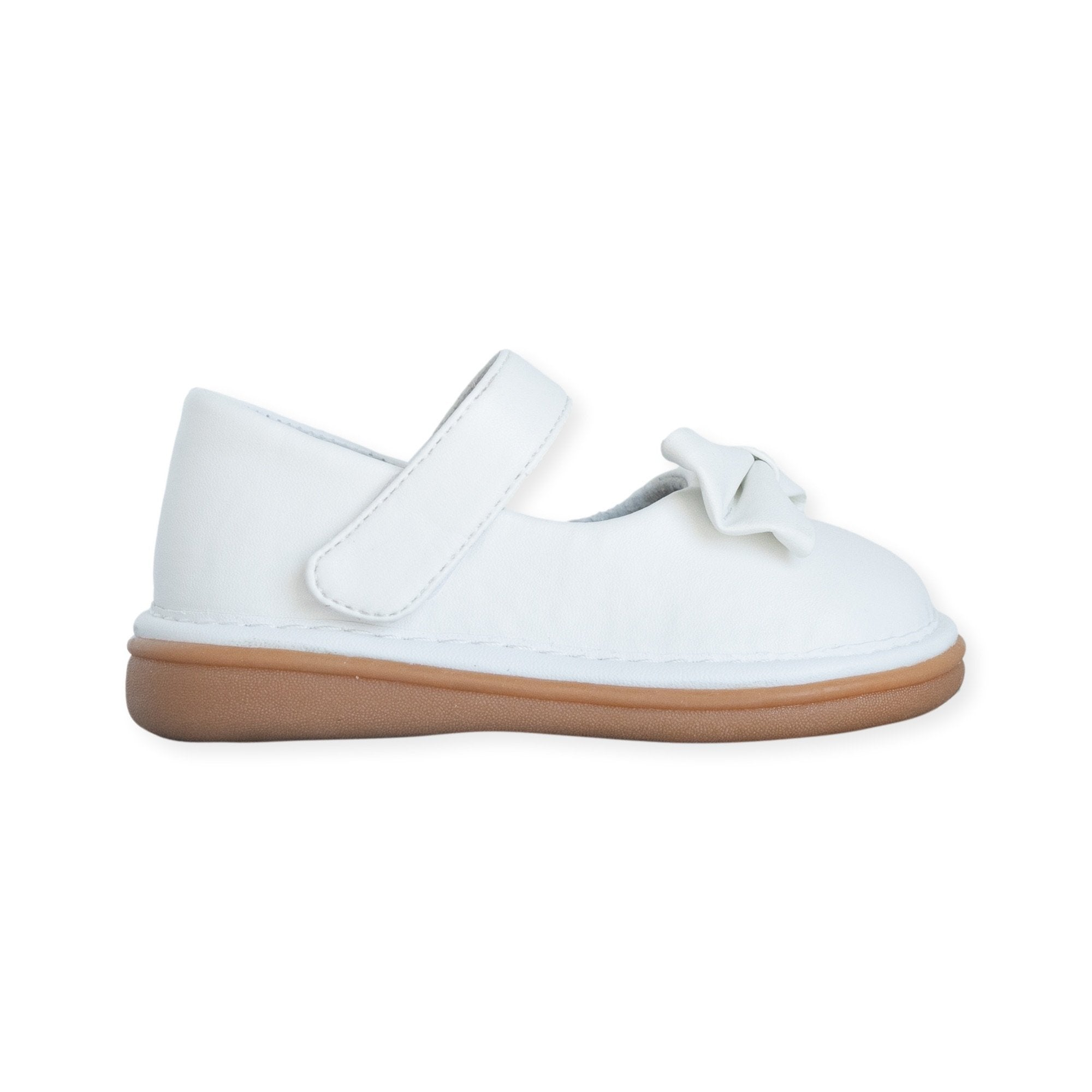 Bow Shoe White - Wee Squeak