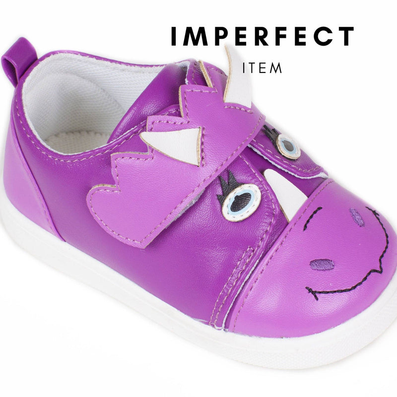 Dino Purple Tennis Shoe (IMPERFECT)