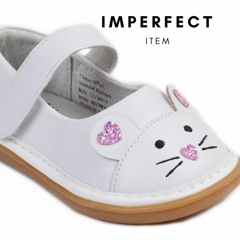 Mouse White Shoe (IMPERFECT)