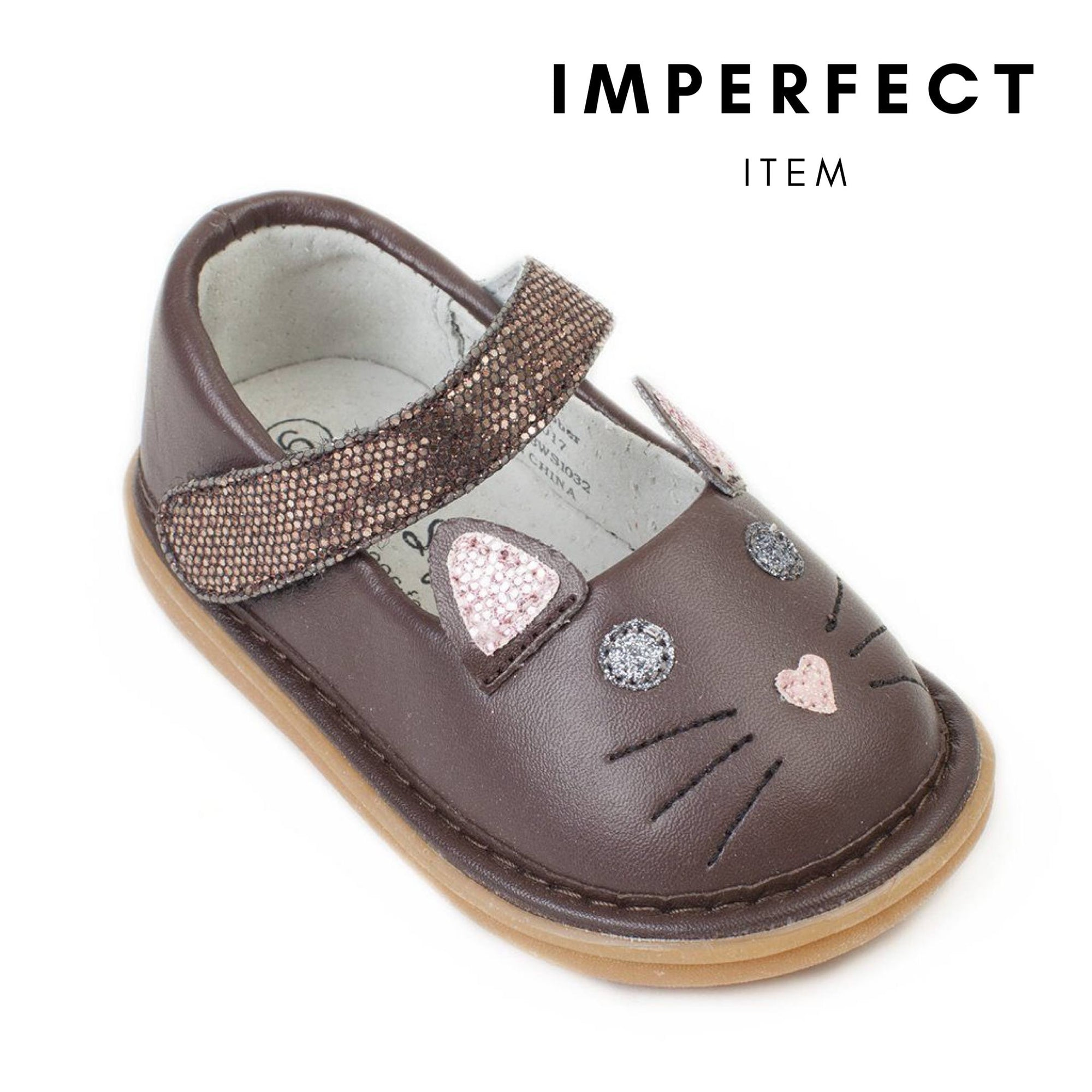 Kitty Shoe Brown (IMPERFECT)