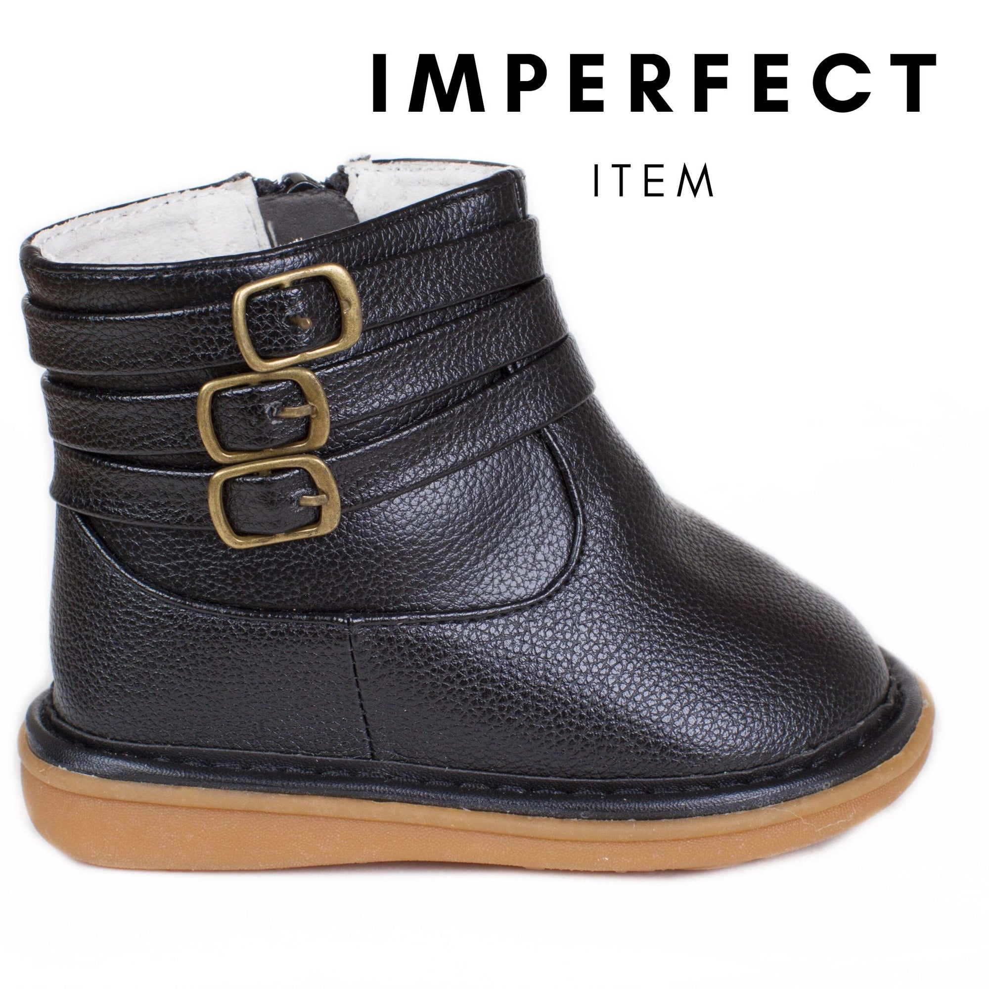 Presley Black Boot (IMPERFECT)