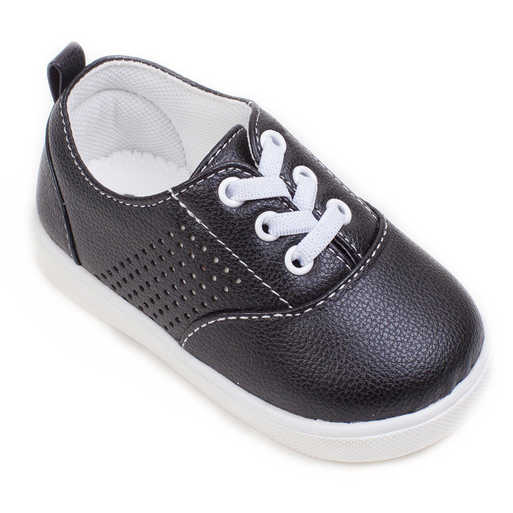 Aiden Black Tennis Shoe