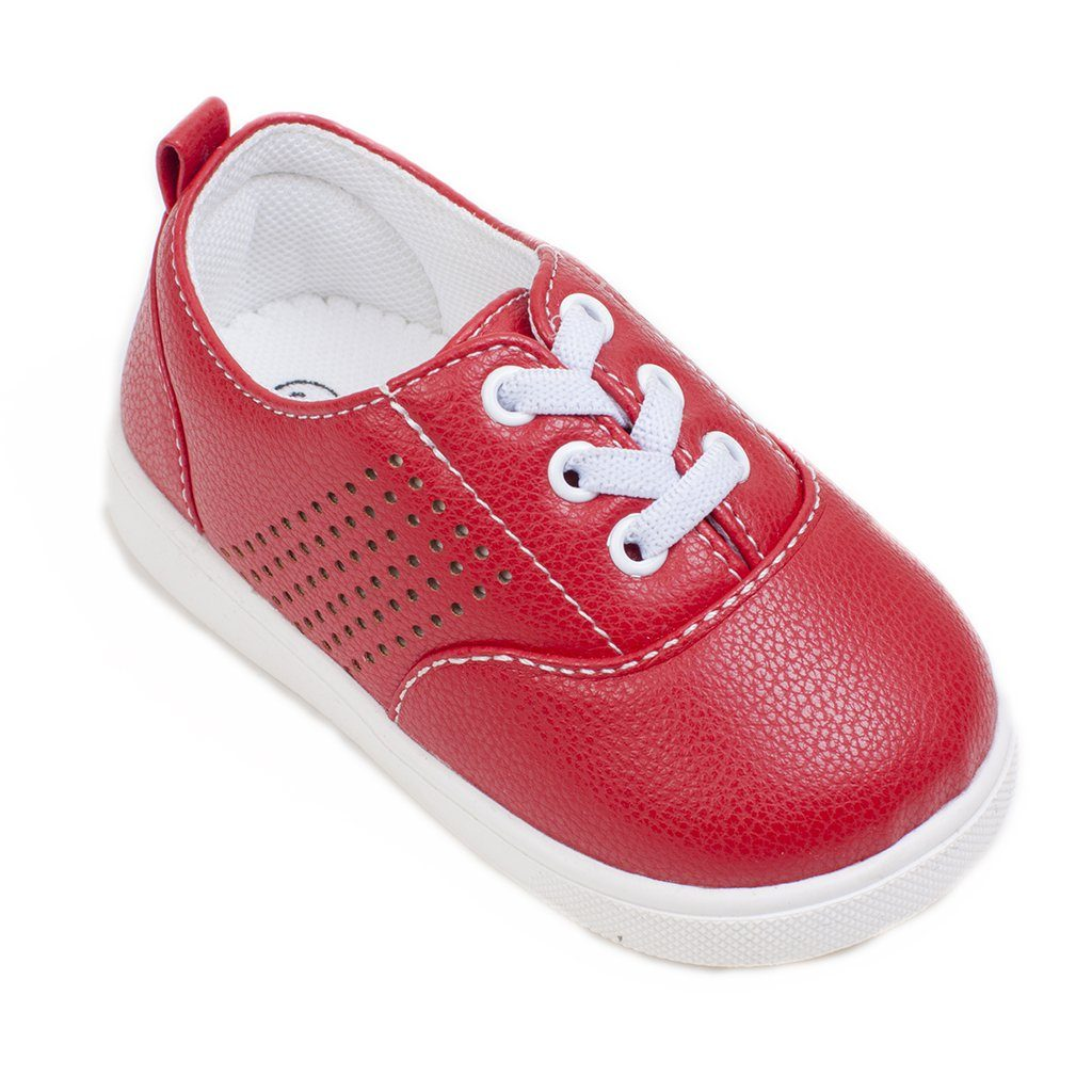 Aiden Red Tennis Shoe