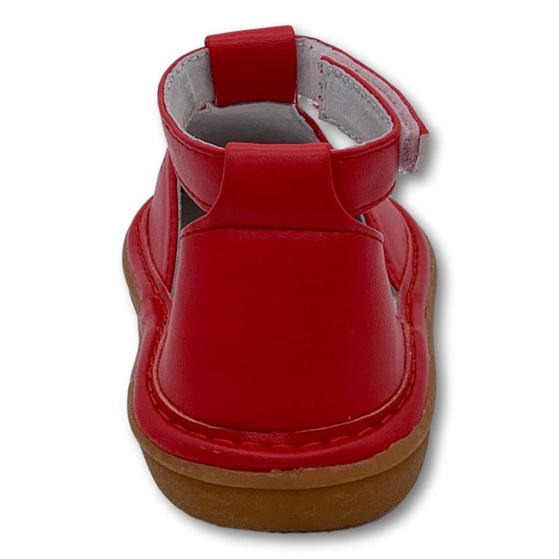 Molly Red T-Strap Shoe