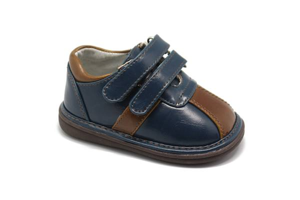Shoes - Two-Tone Shoe Navy