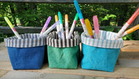 Small Canvas Baskets