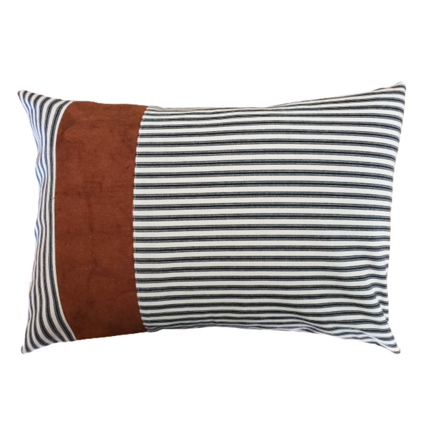 Color-Blocked Pillow Covers