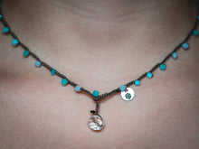Load image into Gallery viewer, Aqua Mix Glass Beaded Necklace