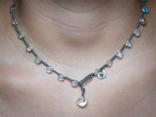Load image into Gallery viewer, Large Crystal Glass Faceted Beaded Necklace