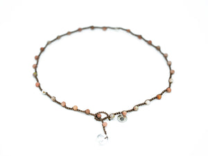 Sesame Jasper Beaded Necklace