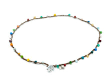 Load image into Gallery viewer, Rainbow of Colors Necklace - Glass Bead