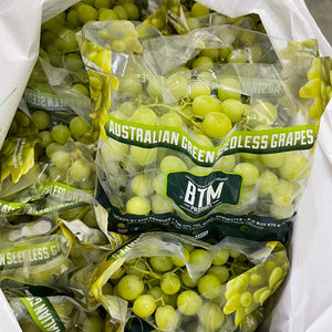 Green Seedless Grapes x 1 Pkt