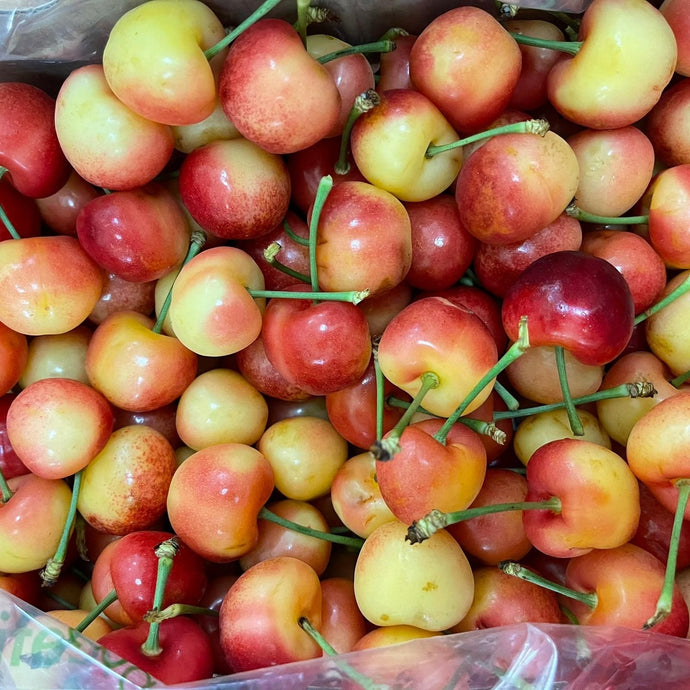 White Rainer Cherries 30-32mm 500g x 1