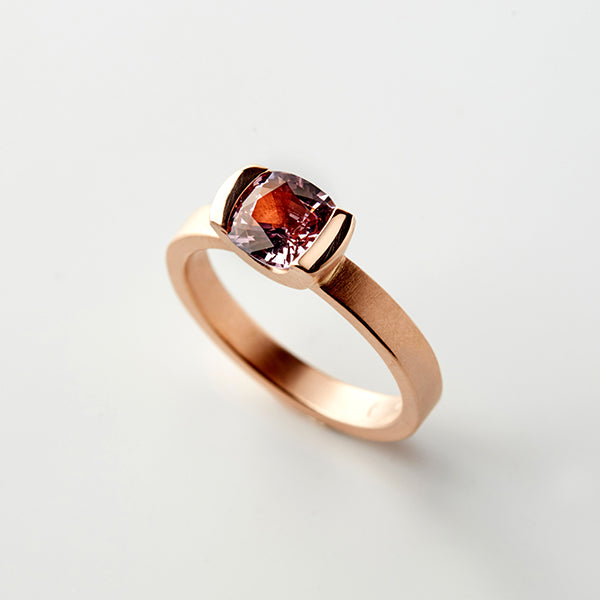 Ring Pink purple Spinel