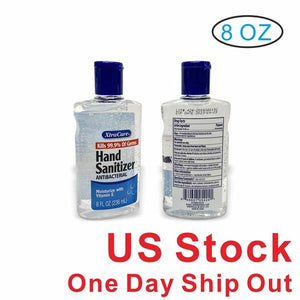 70% Antibacterial Hand Sanitizer Gel- 8oz (24 BOTTLES)