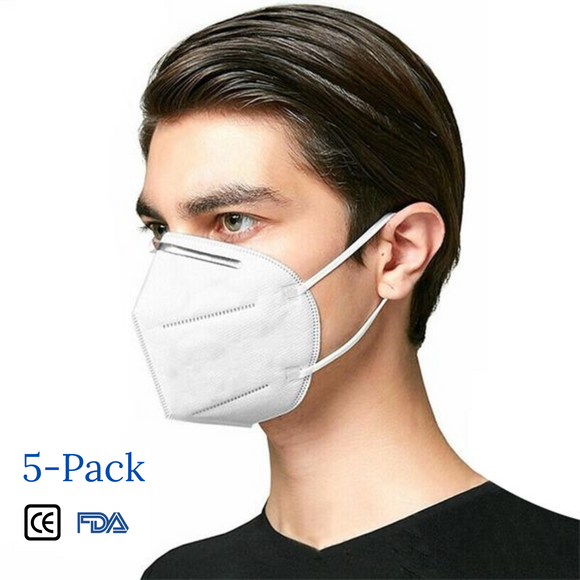 KN95 Respiratory Protective FDA/CE Certified Face Mask