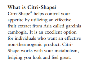 what is citri shape