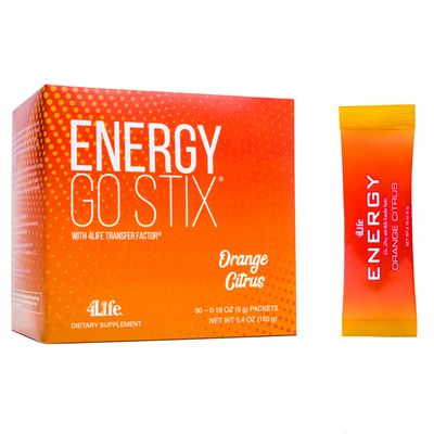 Energy Go Stix Orange Citrus Flavor