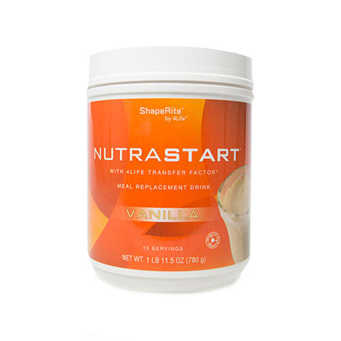 NutraStart Vanilla , natural supplements - 4life, 4Life Transfer Factor - FAST, FREE Shipping !