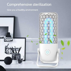 Portable Ultraviolet Ozone light for 100% Bactericidal sterilization. - freecare.me