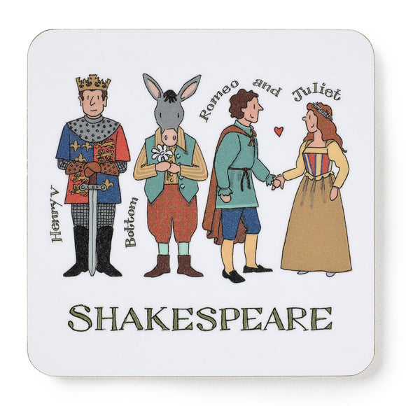 Shakespeare's Characters Coaster