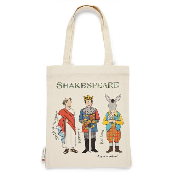 Shakespeare's Characters Tote Bag