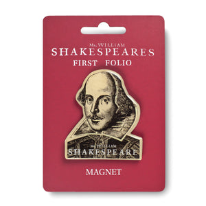 Shakespeare's First Folio Magnet