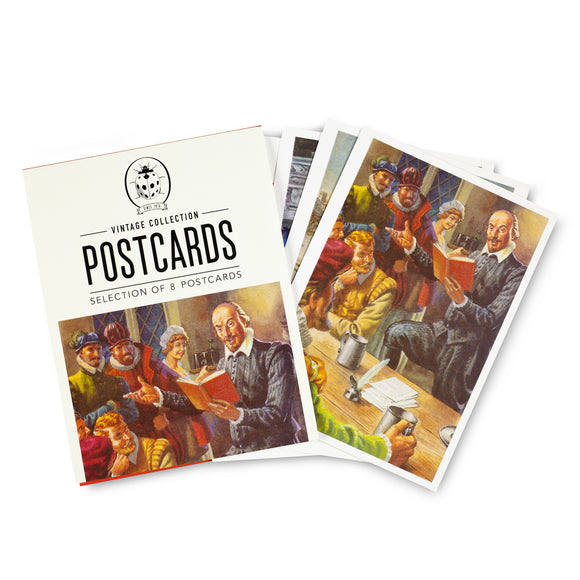 Ladybird Shakespeare Postcard Selection Pack