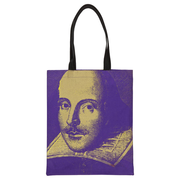 Steve Kaufman Shakespeare Tote Bag
