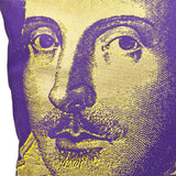 Steve Kaufman Shakespeare Cushion