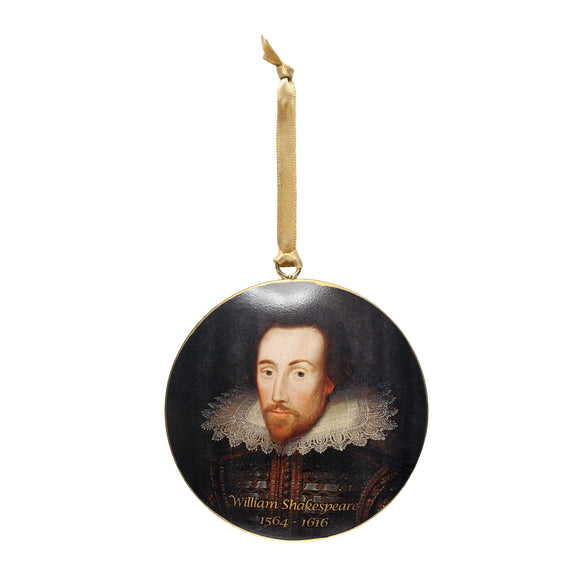 Shakespeare Metal Decoration