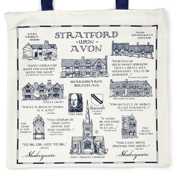 Stratford-upon-Avon Heritage Canvas Bag