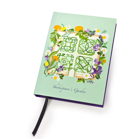 Shakespeare's Garden A6 Notebook