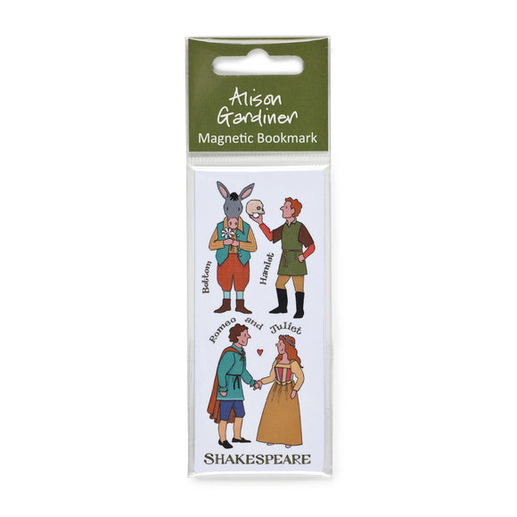 Shakespeare's Characters Magnetic Bookmark