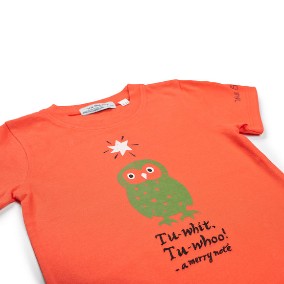 Owl Orange T-Shirt