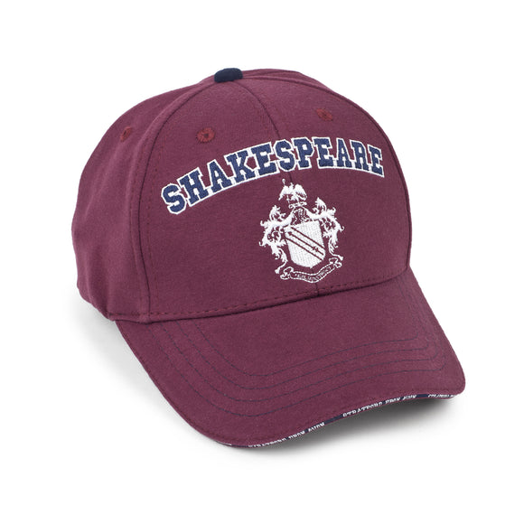 Shakespeare Coat of Arms Maroon Baseball Cap