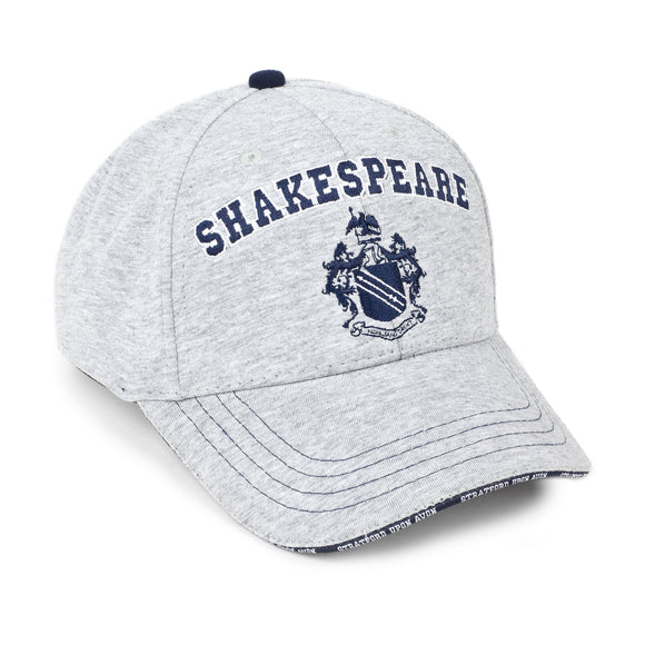 Shakespeare Coat of Arms Grey Baseball Cap
