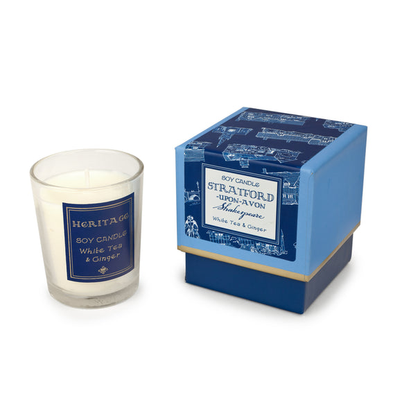 Stratford-upon-Avon Heritage Boxed Candle
