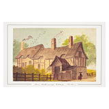 Anne Hathaway's Cottage Mounted Print