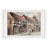Shakespeare's Birthplace (from Henley Street) Mounted Print