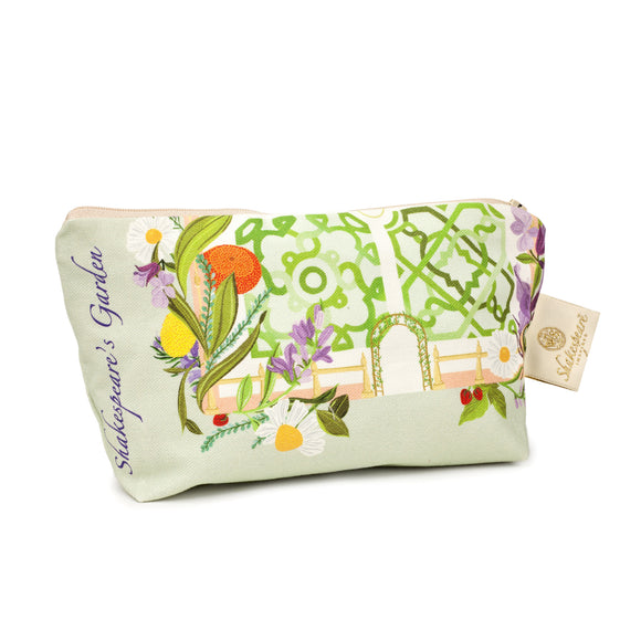 Shakespeare's Garden Cosmetic Bag