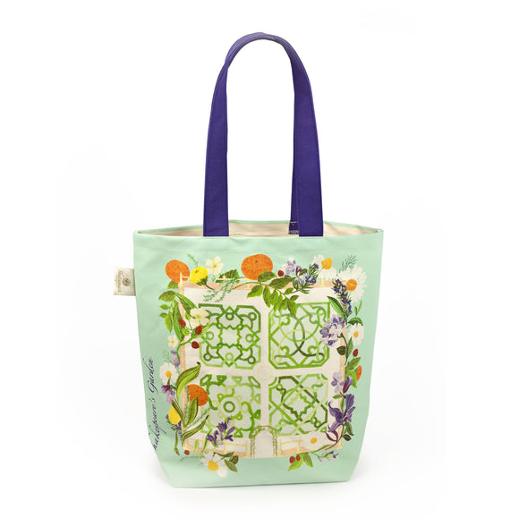 Shakespeare's Garden Tote Bag