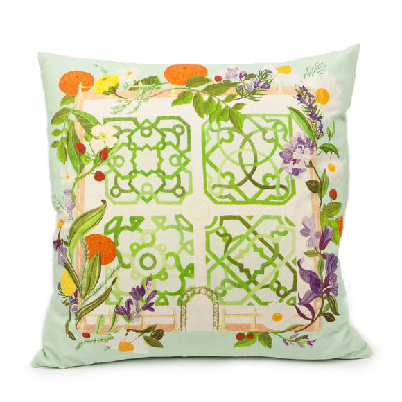 Shakespeare's Garden Cushion